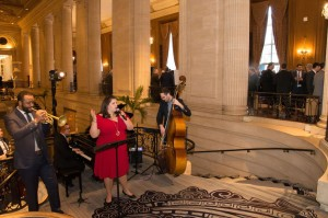Abigail Riccards Quartet at reception